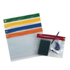 Snopake A5 Assorted Zippa Bags (Pack of 25) 12722  [SK12722]