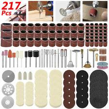 217PCS For Dremel Rotary Tool Accessories Sanding Cutting Polishing Grinder Set