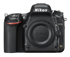 Nikon D750 24.3 MP Digital SLR Camera - Black (Body Only)