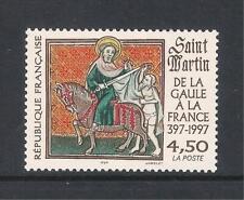 France mint stamp - 1997 Death Anniv St Martin Bishop of Tours, MNH
