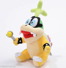"Sanei Super Mario Iggy Hop Koopa Plush Toy Series Plush Doll 8"" Stuffed Animal"