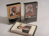 BILL COSBY Comedy Lot of 3 Cassette Tapes Humor - Himself, Best of & More Best