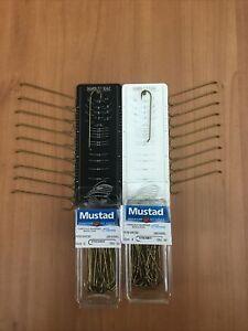 20 Mustad 94720 Size 2 4 9x Long Carrie Stevens Streamer Hook Fly Tying Material