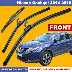 U-Hook, Rear Special Front and rear set Wiper Blade For Nissan Qashqai 2014-2019