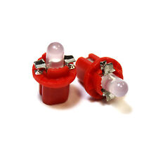 2x Red LED [509t,U509TB] 12v Dashboard Light Bulbs