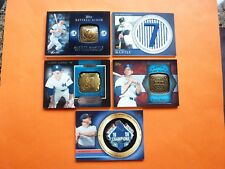 5) Mickey Mantle 2012 Topps Retired Number Ring & Patch, Team & Award Ring & Pin