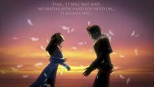Final Fantasy 8 - Squall and Rinoa - iron on transfer 5x8