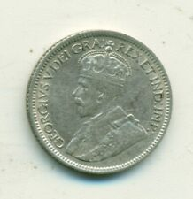 Canada 10 cents 1934 VF