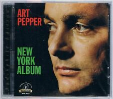 ART PEPPER NEW YORK ALBUM CD ANALOGUE PRODUCTIONS SEALED