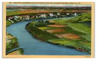 Mid-1900s Hagerman Valley, Snake River and Thousand Springs, ID Postcard