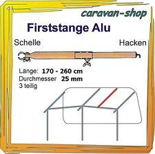 Alu Dachhakenstange 25 mm Zelt-Stange Firststange Zeltstangen Vorzelt Wohnwagen
