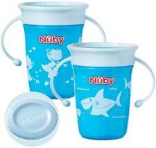 NUBY sipeez 360 Degré Wonder Mini Tasses couleurs assorties 2 Bécher Spill Proof...
