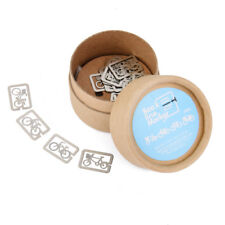 20 Metal Bookmarks Souvenirs Book Marker Label Party Gift with Box--Bicycle