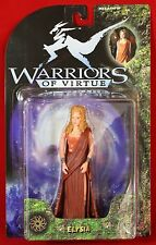 "Warriors of Virtue ELYSIA 6"" Action Figure New on Original Card 1997 Play'Em"