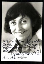 Heidy Forster autografiada mapa original firmado # bc 21931