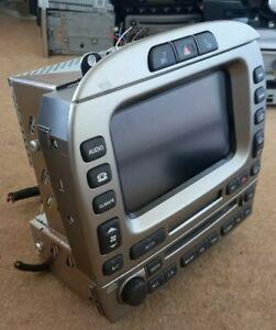 Jaguar X-type 2009 SatNav Navigation CD Radio Command Unit + NavDriver Disc Code