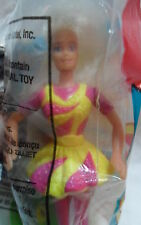 1994 Original Mattel Dance Moves Barbie Doll #2 Sealed McDonald's Happy Meal Toy