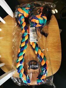 Zoon Dogs Uber Active Mega Size Tug Rope Toy - BNIP