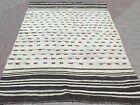 Vintage Oushak Kilim Rug  Wool Kelim  Modern Rug Teppich 63 X85  Area Rug Carpet