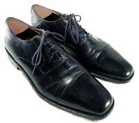 Johnston & Murphy Harvey Black Cap Toe Oxford Drees Shose Mens Size 8.5 M
