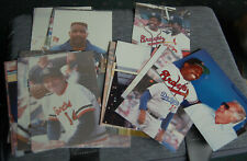 28 Original Vintage Photos of  1990s Oldtimers All-Star Baseball Game, Aaron,++