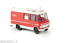 """MB L 508 RTW """"BF Düsseldorf"""", H0 Auto Modell 1:87, Brekina 93691"""