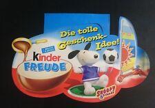 """Original Palettenanhänger """"Snoopy & Friends"""" Deutschland 2002 Maxi Ei"""