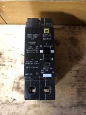 SQUARE D EDB24020 2 POLE 20 AMP CIRCUIT BREAKER Poles Breakers Panel EDB 24020