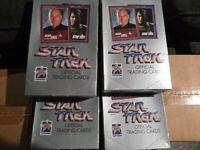 LOT (4) BOXES SEALED Star Trek Official Trading Cards Series I 25th Anniversary