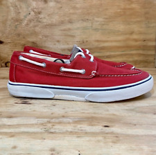 Sperry Top Sider Red Boat Shoes Men's Size 7