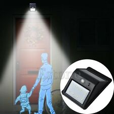 8 LED Light Detector Security Lamp Wireless Solar Outdoor Powered Motion Sensor