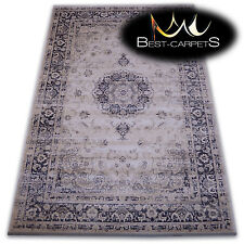 Nice to Touch TRADITIONAL RUGS 'JASMIN' ornament beige ORIGINAL Soft as Silk