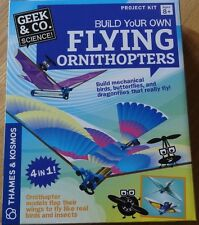 Build your own Flying Ornithopters Project kit Mechanical flying birds Flap Wing