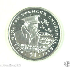 New listing Liberia Commemorative Coin $1 1995 Unc - Sir Winston Churchill