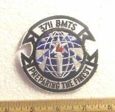 US Air Force – 3711 BMTS – Preparing the Finest Embroidered Patch