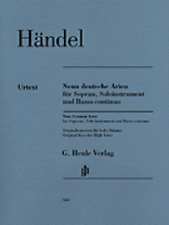 Nine German Arias for Soprano, Solo Instrument and Basso Continuo