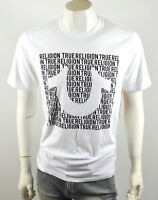 True Religion Brand Jeans Men's U Script Logo Crew Tee Shirt Top - 101470