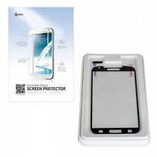GGS Self-Adhesive Glass LCD Screen Protector For Samsung Galaxy S4 Black UK