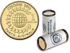 2011 $1 Roll ROYAL AUSTRALIAN MINT CHOGM  (20 UNC Coins in Roll) rare*