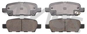 Disc Brake Pad Set-Base Rear ADVICS AD0905