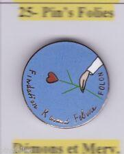 Pin's Folies * Demons & Merveilles Fondation RenauD Febure Illustré par FOLON