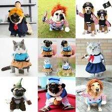 Dog Halloween Clothes Dogs Holding a Knife Christmas Costume Dog Cat pet Party
