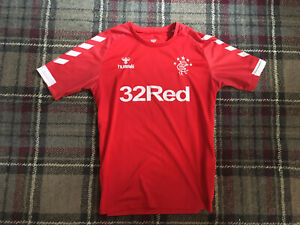 Glasgow Rangers FC Hummel Mens Medium 3rd 2019-2020 Football Shirt Top Jersey