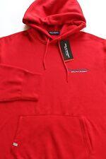 New Ralph Lauren Red Polo Sport Pullover Fleece Hoodie / XL