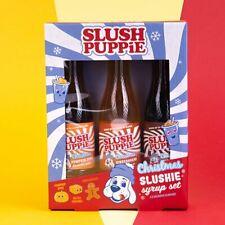 Slush Puppie Puppy Christmas Syrups Gingerbread Pumpkin Caramel USE BY NOV 2020