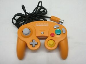 D499 Nintendo GameCube Controller Orange Japan GC