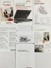 Toshiba Satellite Pro A300 Manuali Guida Utente Rapida Manuale Libricini Libri