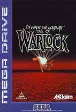 # Ultimate Evil of Warlock-Sega Mega Drive/MD juego-Top #