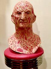 Freddy Krueger Mask Bust Lifesize Halloween Myers Prop Mold Elm Street 3