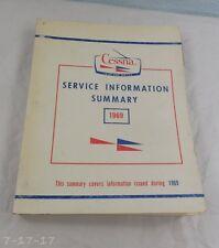 1969 Cessna Service Information Summary Catalog